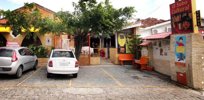 Foto da Entrada do Sebo Culturla